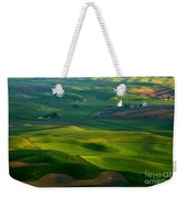 First Light On The Palouse Weekender Tote Bag