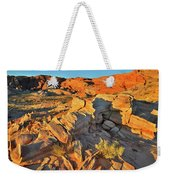 First Light On Valley Of Fire State Park Weekender Tote Bag