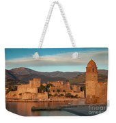 First Light Over Collioure Weekender Tote Bag
