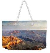 First Light Over Grand Canyon, Arizona, Usa Weekender Tote Bag