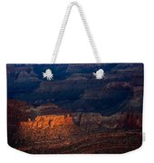 First Light Over Yavapai Point  Grand Canyon Weekender Tote Bag