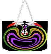 First Move Abstract Weekender Tote Bag