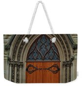 First Presbyterian Church Door Weekender Tote Bag