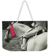First Show Red Weekender Tote Bag