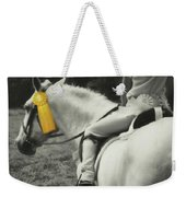 First Show Yellow Weekender Tote Bag