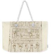 First Side Of Obelisk, Illustration From Monuments Of Nineveh Weekender Tote Bag