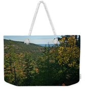First Signs Of Fall Weekender Tote Bag