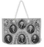 First Six U.s. Presidents Weekender Tote Bag by War Is Hell Store