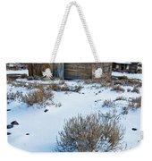 First Snow  Bodie Weekender Tote Bag
