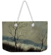 First Snow In Harroy Weekender Tote Bag