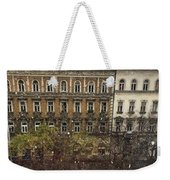 First Snow Of The Year Weekender Tote Bag
