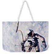 First Spacewalk Weekender Tote Bag