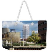 First Star View From River Weekender Tote Bag