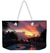 First Sunset In Negril Weekender Tote Bag