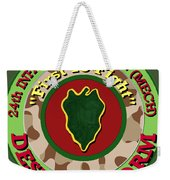 First To Fight Weekender Tote Bag