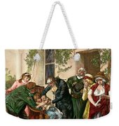 First Vaccination, 1796 Weekender Tote Bag