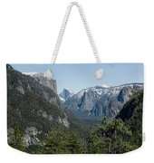 First View Of Yosemite Valley Weekender Tote Bag