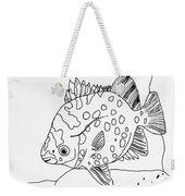 Fish And Rock Weekender Tote Bag