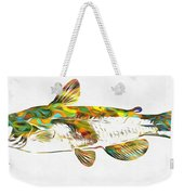 Fish Art Catfish Weekender Tote Bag