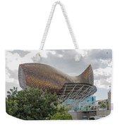 Fish By Frank Owen Gehry - Olympic Village - Barcelona Spain Weekender Tote Bag