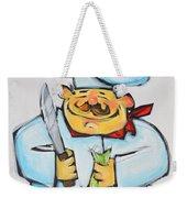 Fish Chef Weekender Tote Bag