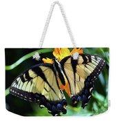 Fish Eye Butterfly Weekender Tote Bag