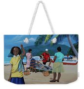 Fish For Supper Weekender Tote Bag