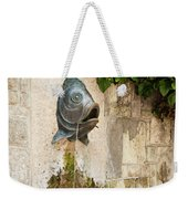 Fish Fountain Weekender Tote Bag
