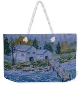 Fish House And Dock 2  Weekender Tote Bag