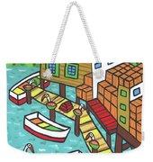 Fish House-cedar Key Weekender Tote Bag