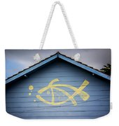 Fish House Weekender Tote Bag