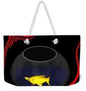Fish In A Bowl Weekender Tote Bag