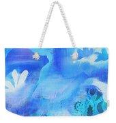 Fish In Blue Weekender Tote Bag
