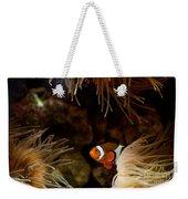 Fish In Sea Anemones Aquarium Weekender Tote Bag