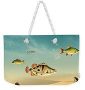 Fish Life  Weekender Tote Bag