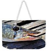 Fish Mouth Weekender Tote Bag