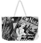 Fish Naked Weekender Tote Bag