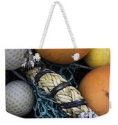 Fish Netting And Floats 0129 Weekender Tote Bag