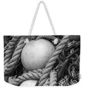 Fish Netting Husavik Iceland 3759 Weekender Tote Bag