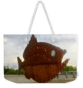 Fish Of Steel Weekender Tote Bag