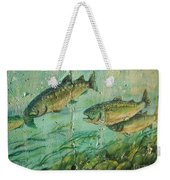 Fish On The Wall 2 Weekender Tote Bag