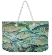 Fish On The Wall Weekender Tote Bag