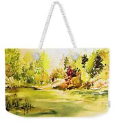 Fish Pond At Nutimik Lake Manitoba Weekender Tote Bag