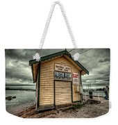 Fish Shed Weekender Tote Bag