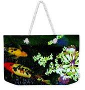 Fish Water Flowers 3 Weekender Tote Bag