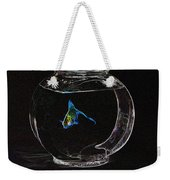 Fishbowl Weekender Tote Bag by Tim Allen