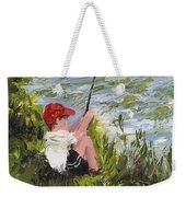 Fisher Boy Weekender Tote Bag