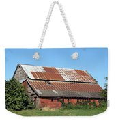 Fisher Road Barn 2 Photograph Weekender Tote Bag