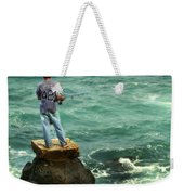 Fisherman Weekender Tote Bag