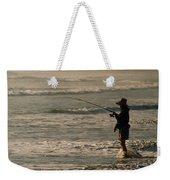 Fisherman Weekender Tote Bag by Steve Karol